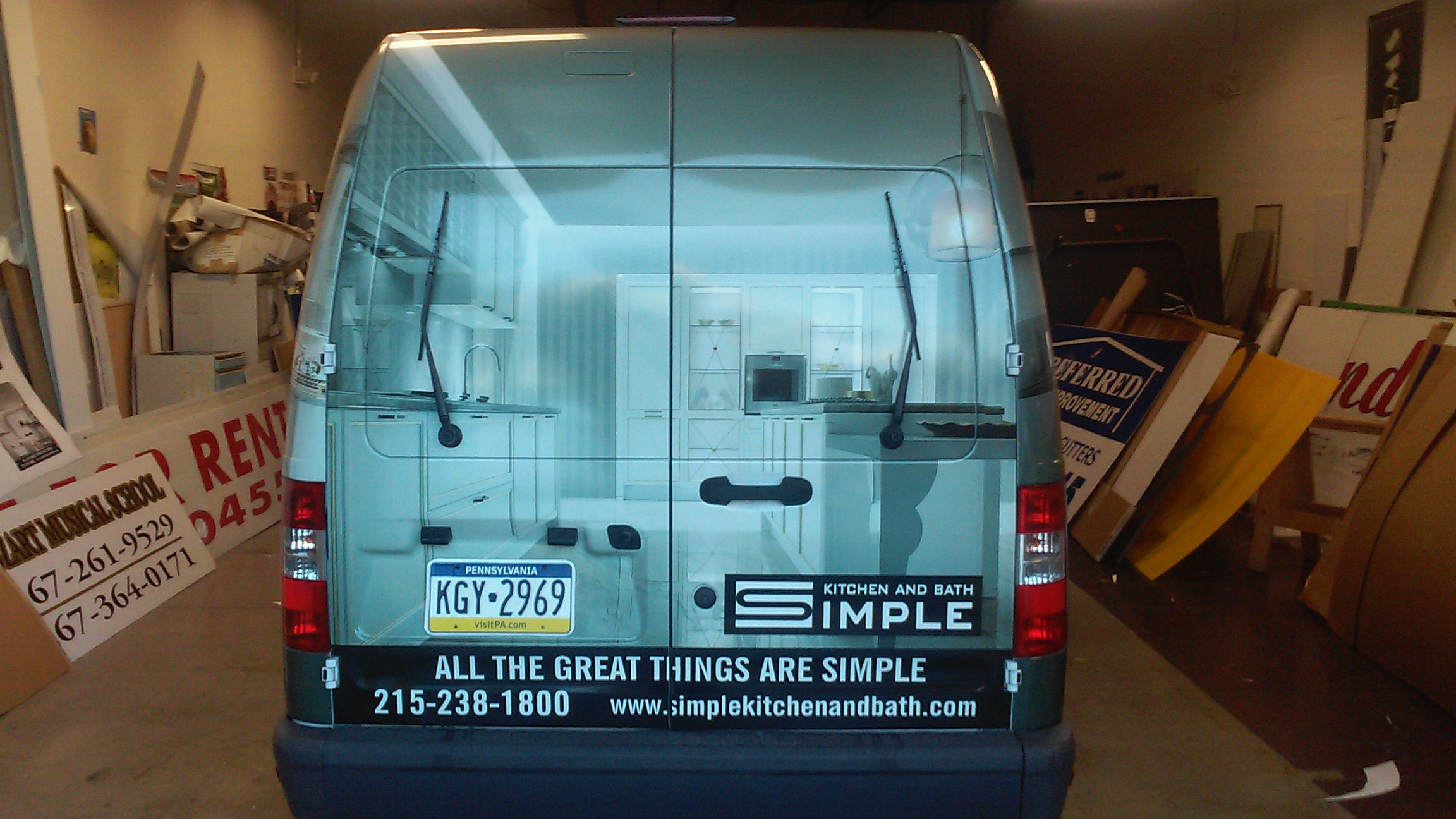 Vehicle Wraps Gallery -Affordable Zorick\'s Signs